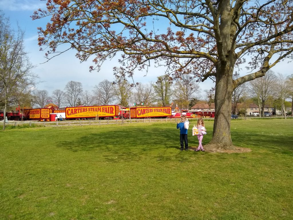Perfect Weather And Family Fun At Carters Steam Fair Loopyloulaura