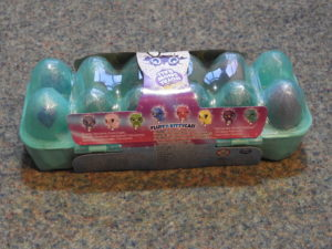 12 pack of Hatchimals, back view