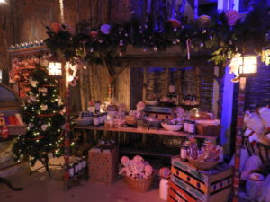 Christmas stall at LaplandUK