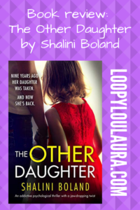 The Other Daughter by Shalini Boland pin