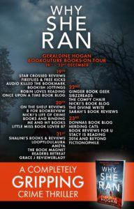 Why She Ran blog tour banner