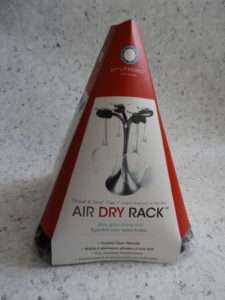 Air dry rack packaging