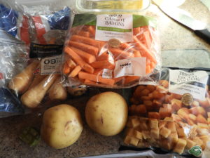 winter veg soup ingredients