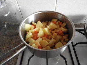 frying veg