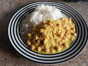 dhal (missing coriander garnish)