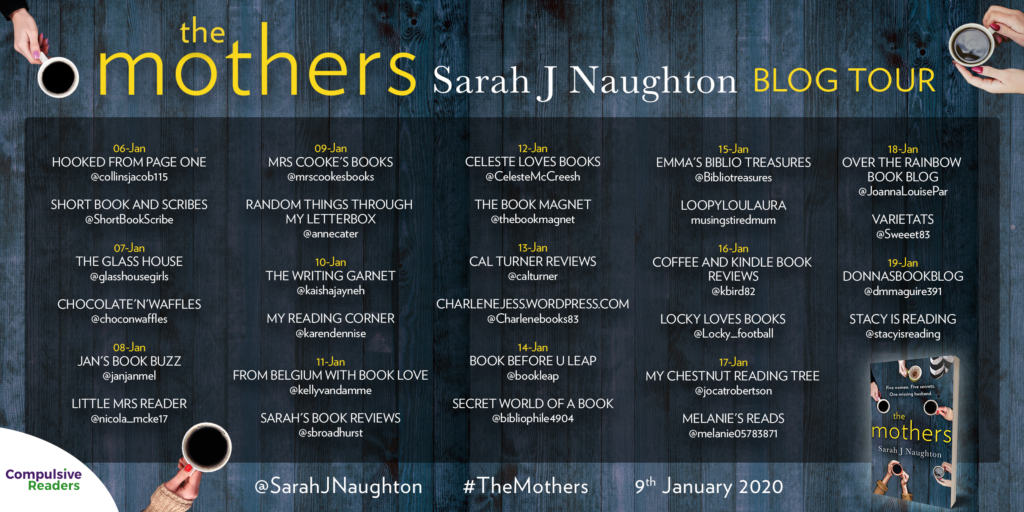 The Mothers book tour banner