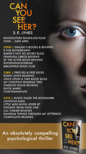 Can You See Her blog tour banner