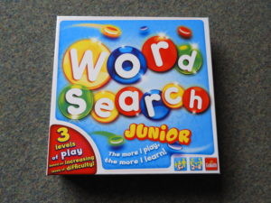 Wordsearch Junior box front