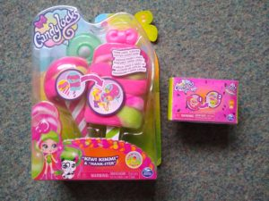 Candylocks doll and pets in packaging