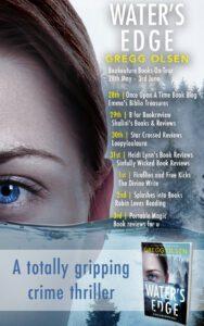 Water's Edge blog tour banner