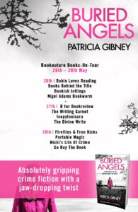 Buried Angels book tour banner