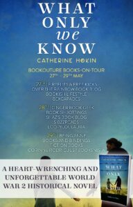 What Only We Know blog tour banner