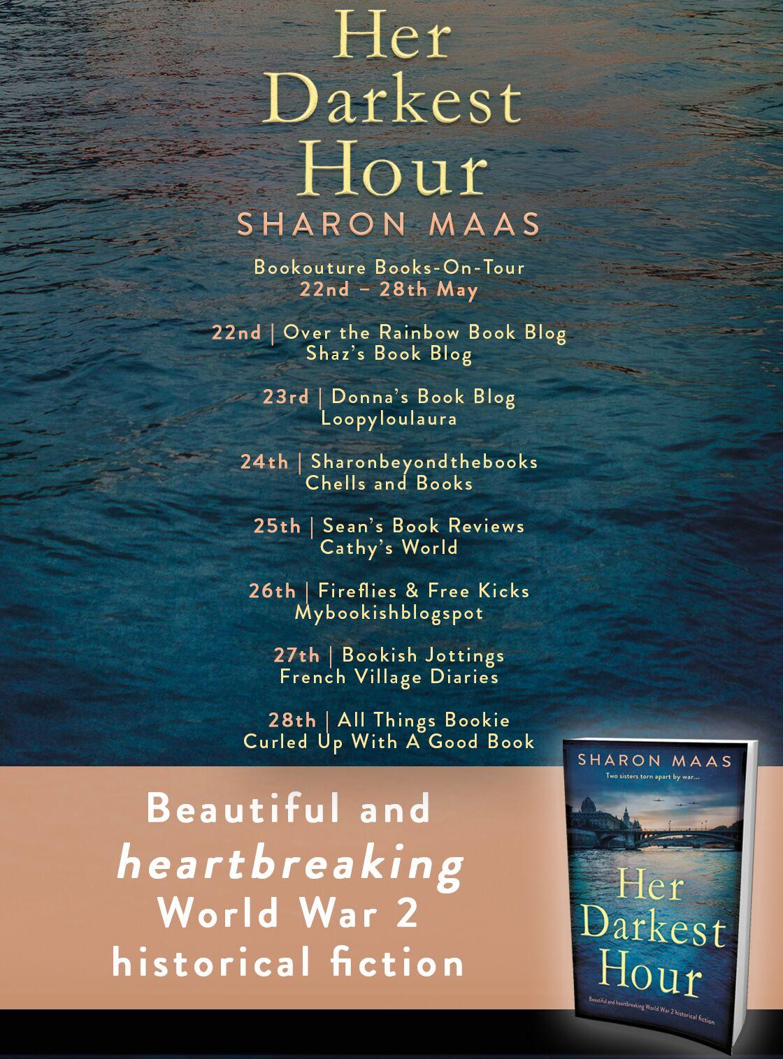Her Darkest Hour blog tour banner