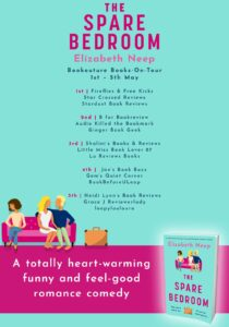 The Spare Bedroom book tour banner