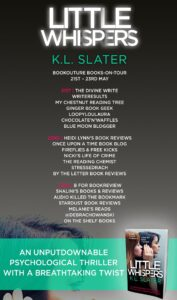 Little Whispers book tour banner