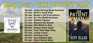 The Patient Man blog tour banner