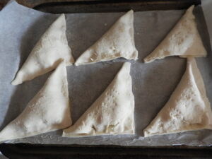 uncooked apple turnovers
