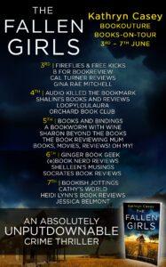 The Fallen Girls blog tour banner