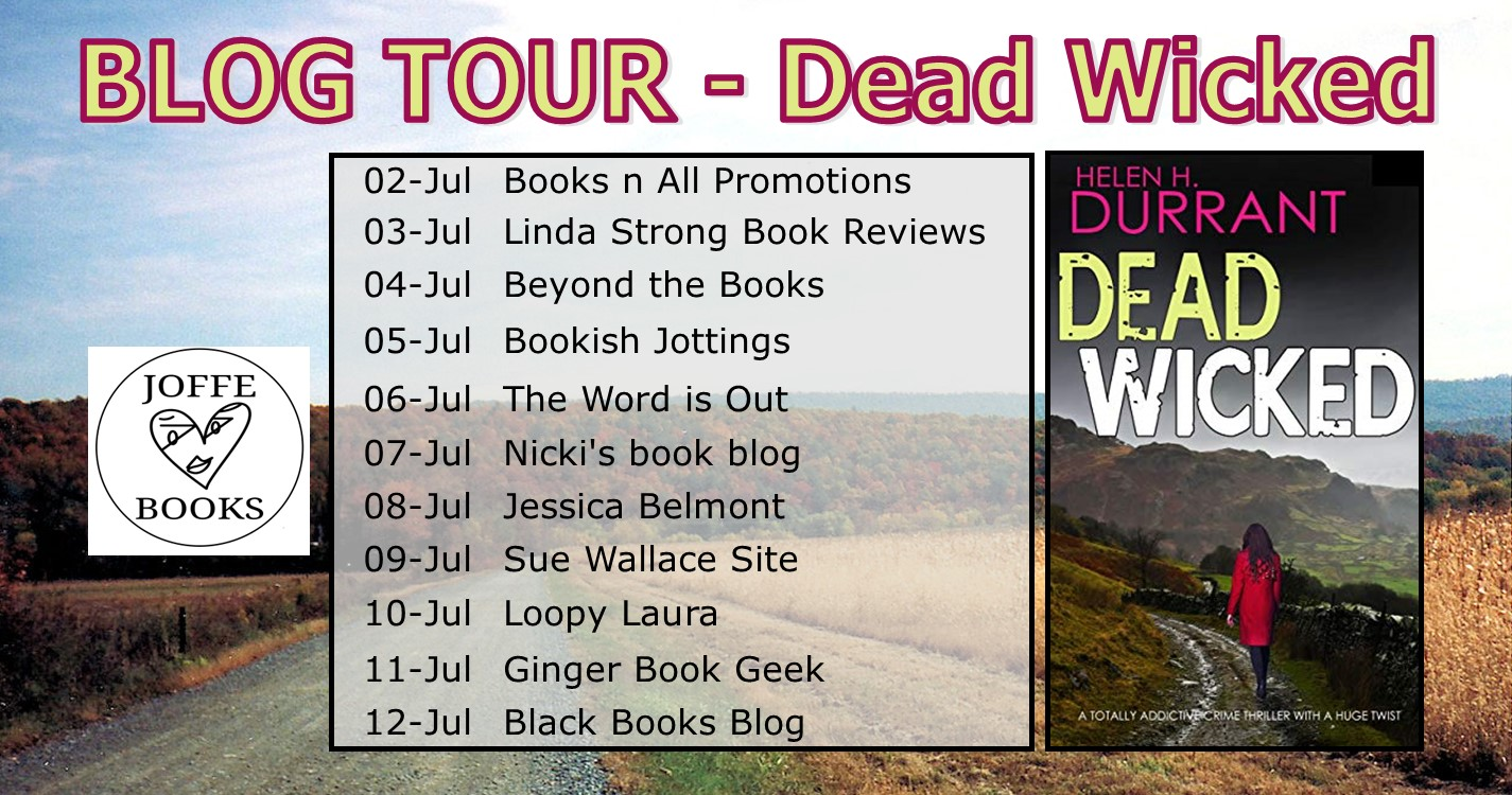 Dead Wicked blog tour banner