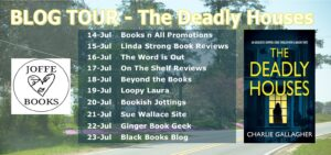 The Deadly Houses blog tour banner