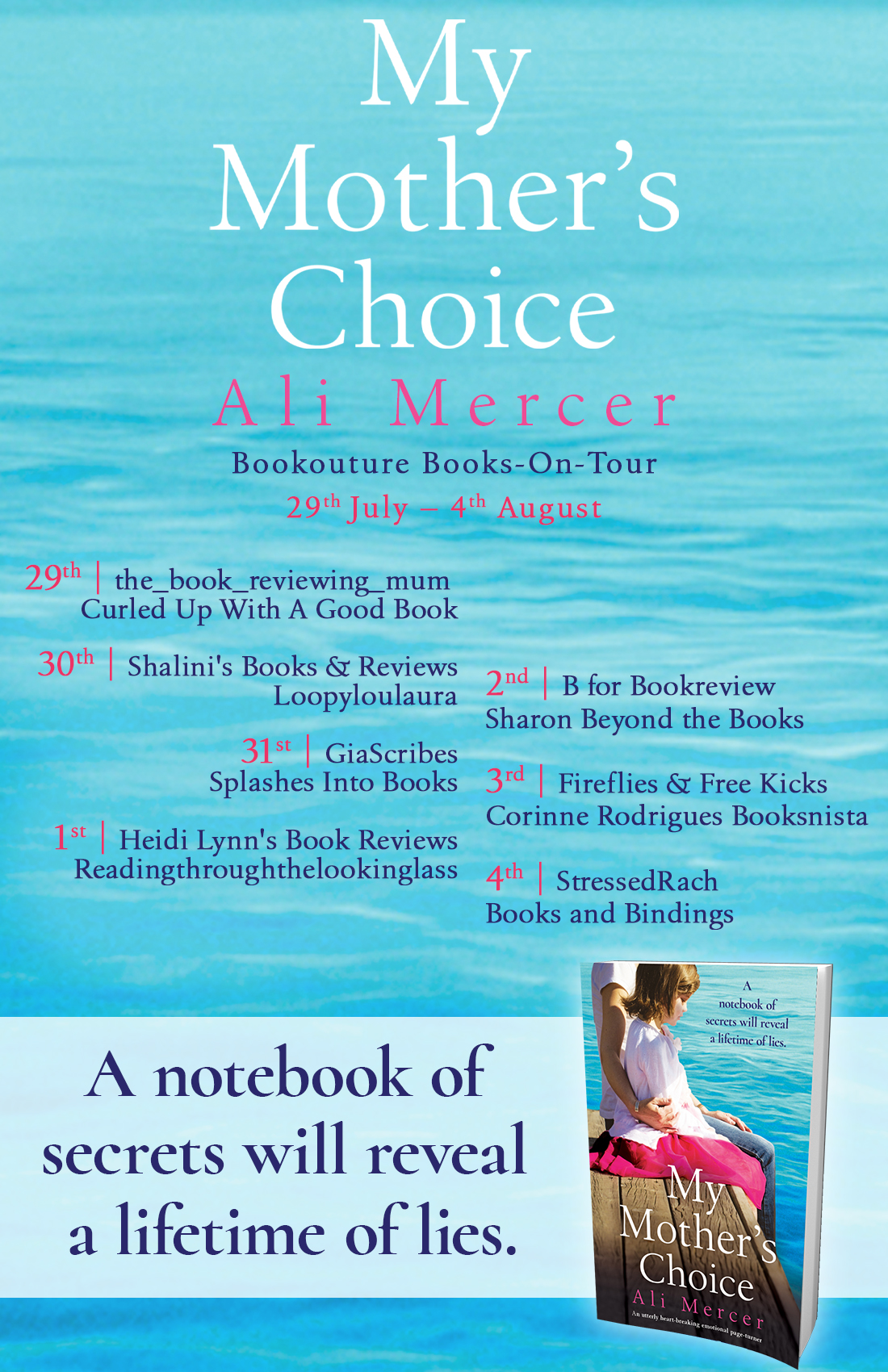 My Mother's Choice blog tour banner