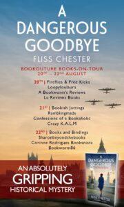 A Dangerous Goodbye blog tour banner