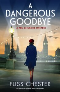 A Dangerous Goodbye book cover