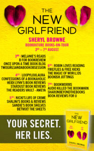The New Girlfriend blog tour banner