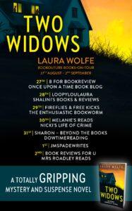 Two Widows blog tour banner