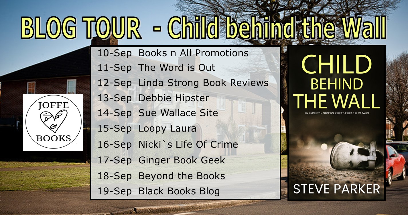 Child Behind The Wall blog tour banner