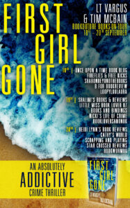 First Girl Gone blog tour banner