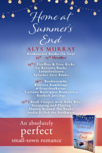 Home At Summer's End blog tour banner