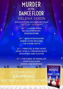 Murder on the Dance Floor blog tour banner