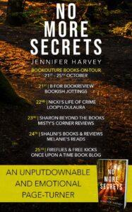 No More Secrets blog tour banner