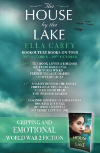 The House by the Lake blog tour banner