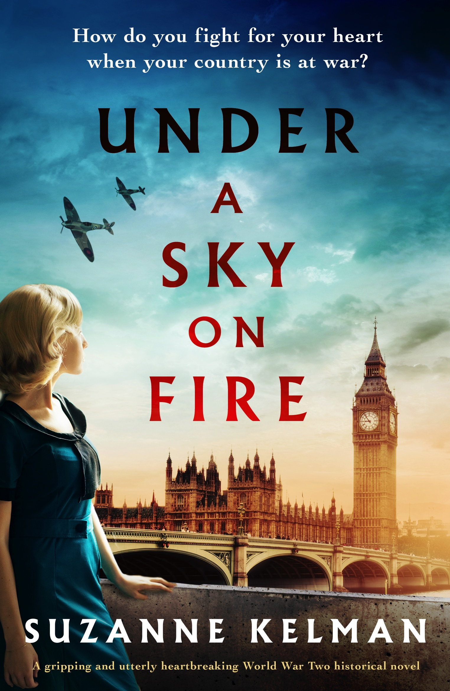 Under A Sky On Fire book cover