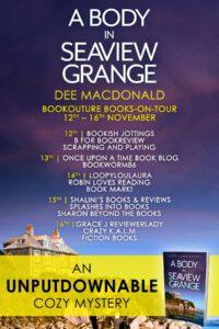 A Body in Seaview Grange blog tour banner