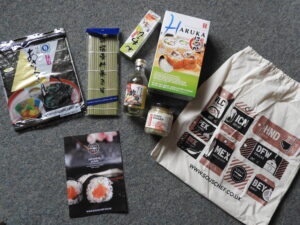 Sous Chef sushi making set contents