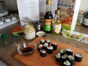 Sous Chef sushi making set finished food
