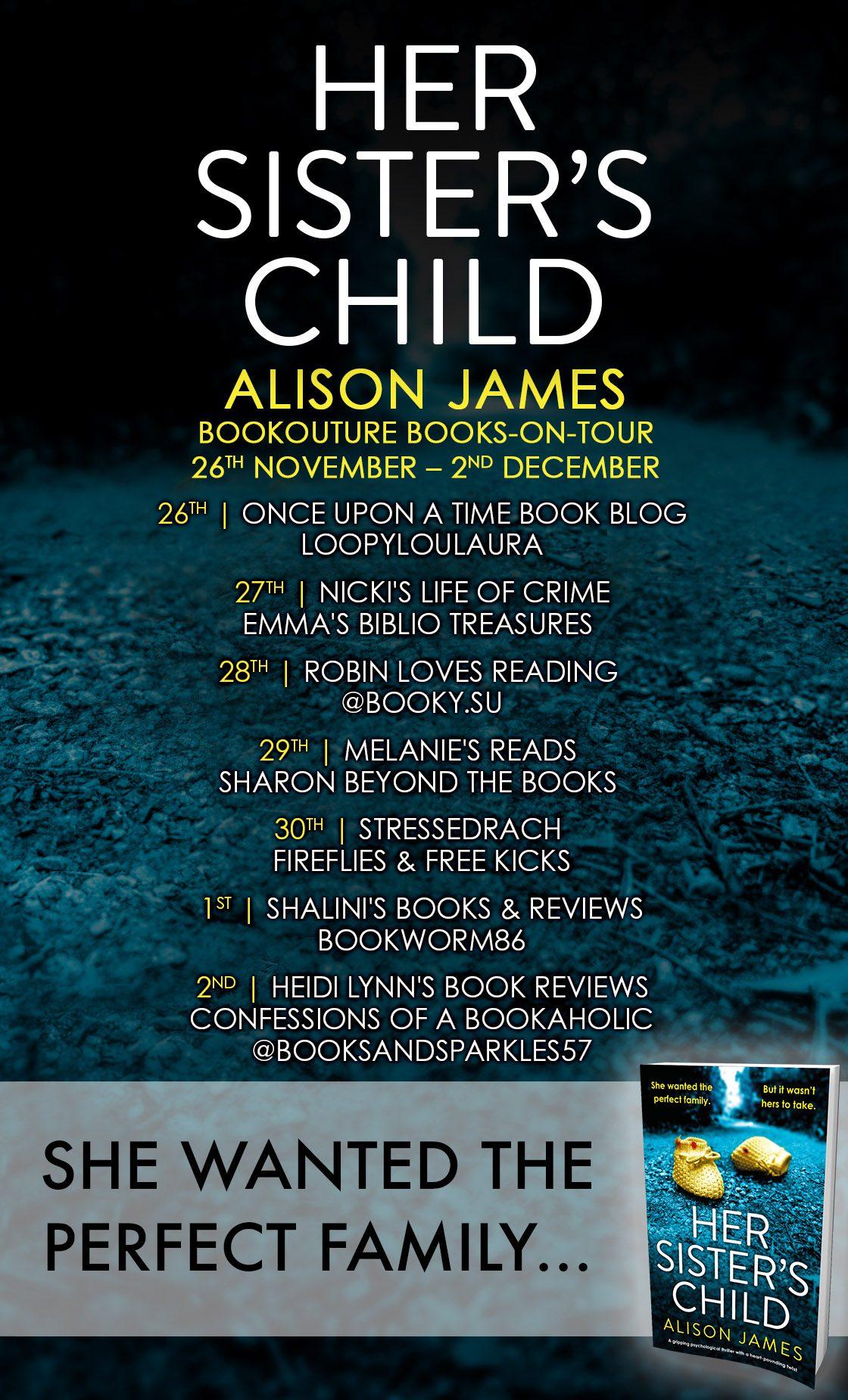 Her Sister's Child blog tour banner