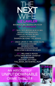 The Next Wife blog tour banner