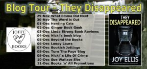 They Disappeared blog tour banner