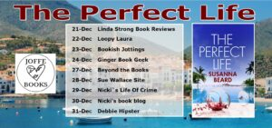 The Perfect Life blog tour banner