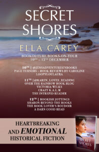 Secret Shores blog tour banner