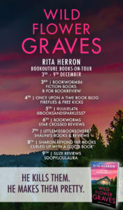 Wildflower Graves blog tour banner