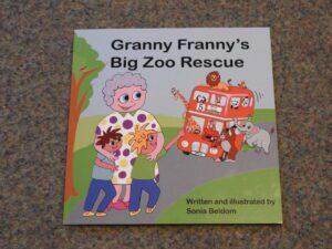 Granny Franny's Big Zoo Rescue book cover