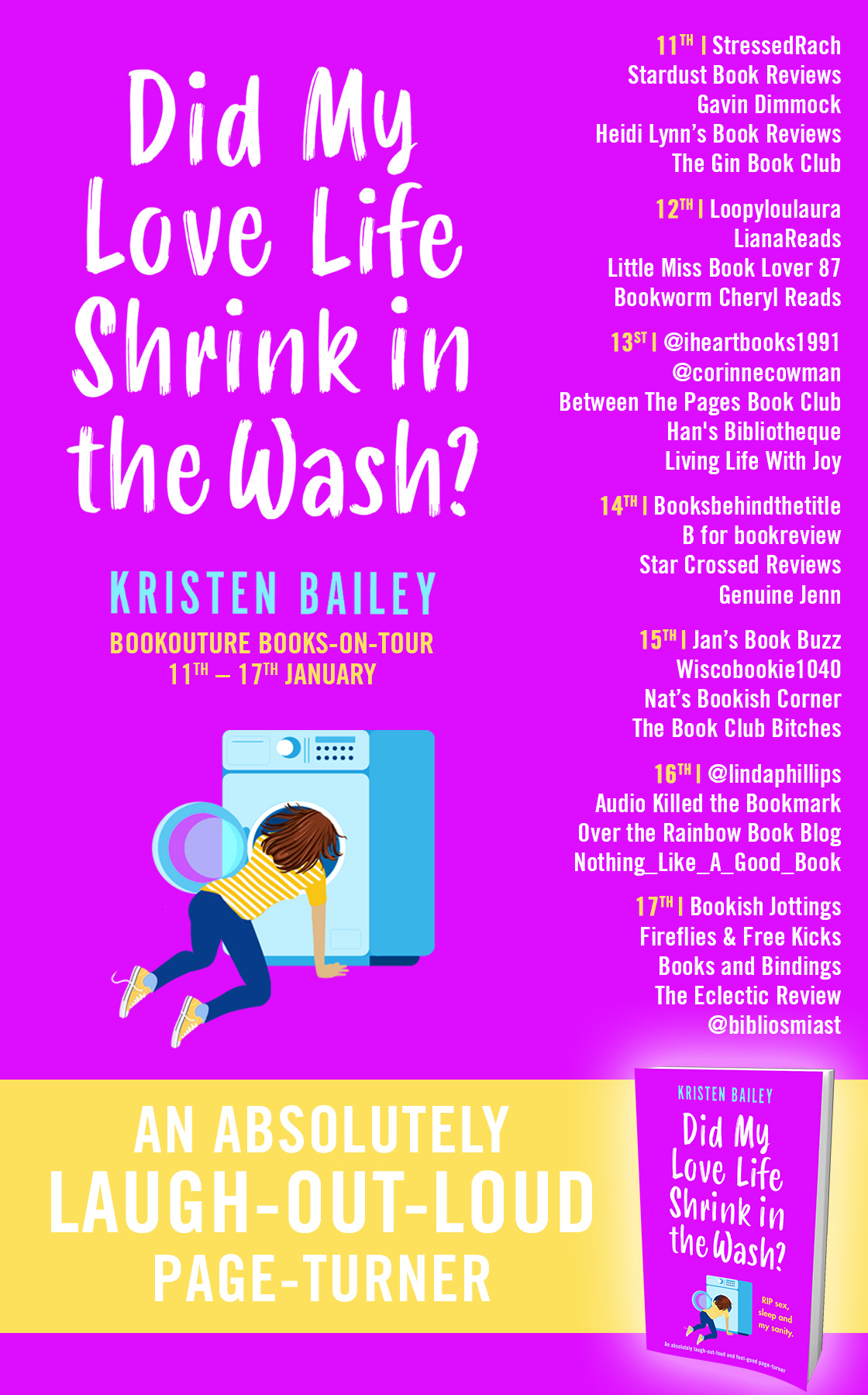 Did My Love Life Shrink in the Wash? blog tour banner
