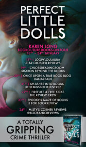 Perfect Little Dolls blog tour banner