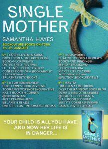 Single Mother blog tour banner