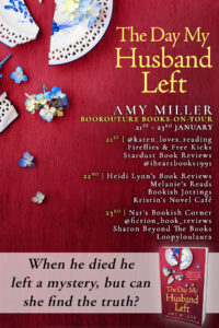 The Day My Husband Left blog tour banner